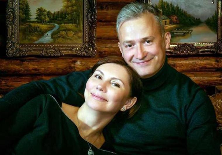 Олена Бондаренко з чоловіком Андрієм