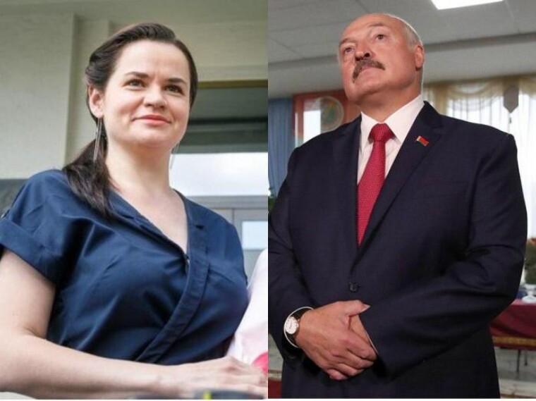 Лукашенко и Тихановская