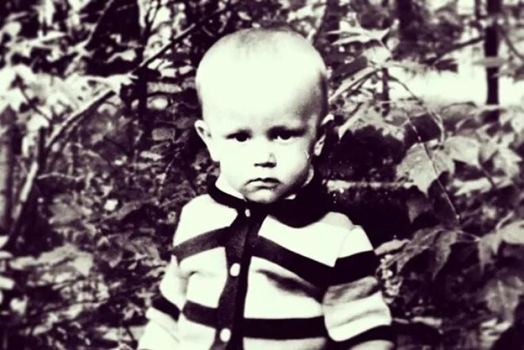 Павел Губарев в детстве