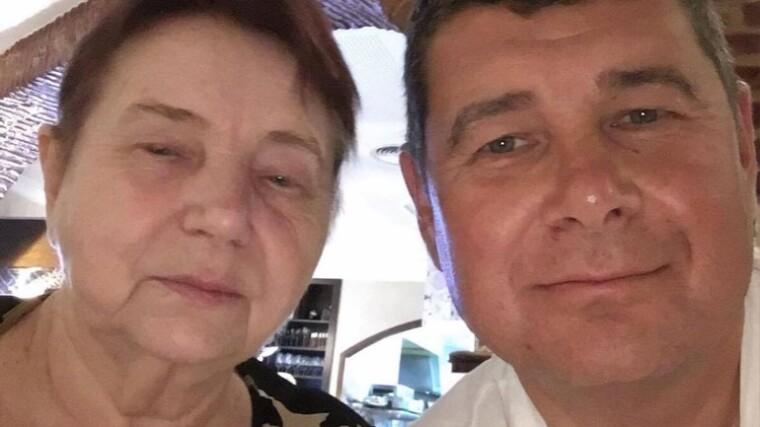 Александр Онищенко с матерью Инессой Кадыровой/beztabu.net