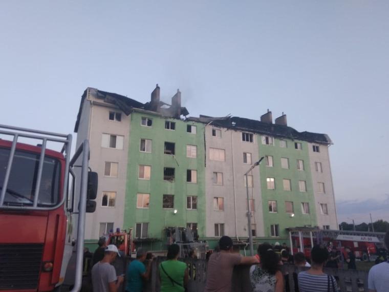"""Взрыв дома в Белогородке/ Фото: """"ДС"""""""