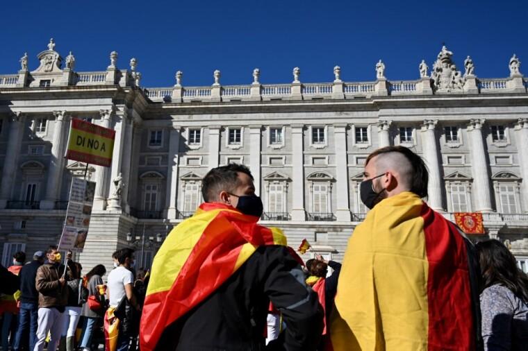 Протест в Испании