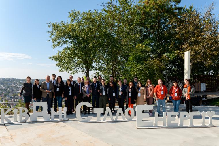 Участники 12-й Европейской недели устойчивой энергии в Украине