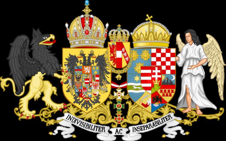 Средний Императорско-Королевский герб Империи Габсбургов