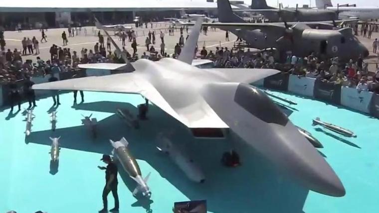 Турецкий истребитель TF-X