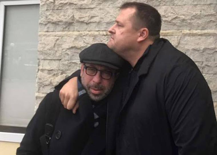 Борис Філатов з Геннадієм Корбаном