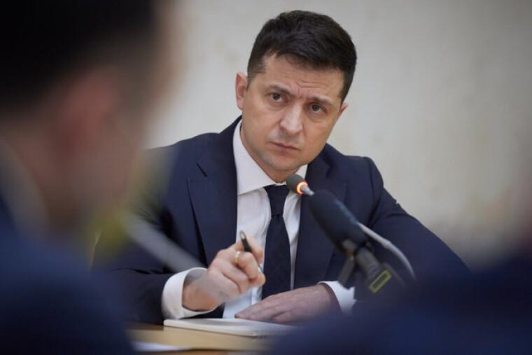 Президент Владимир Зеленский в Харькове
