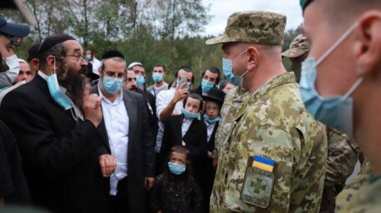Сергей Дейнеко на беларусско-украинской границе