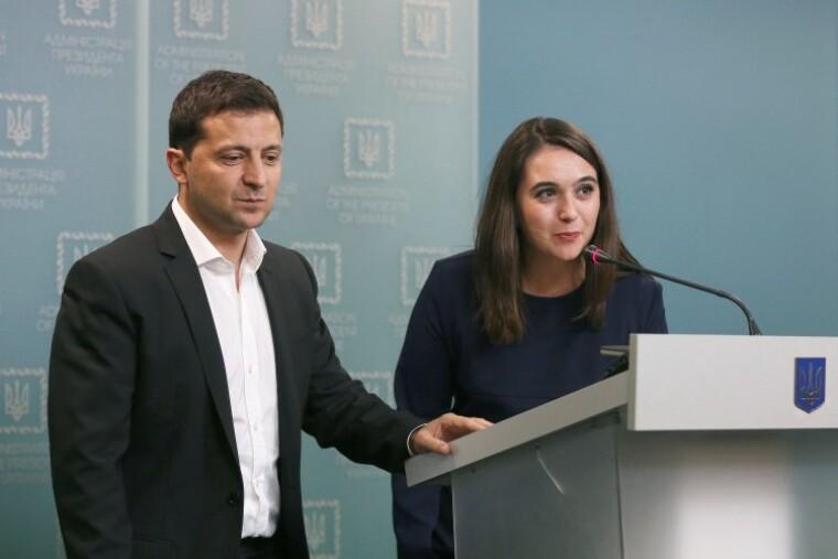 фото Володимир Зеленський та Юлії Мендель