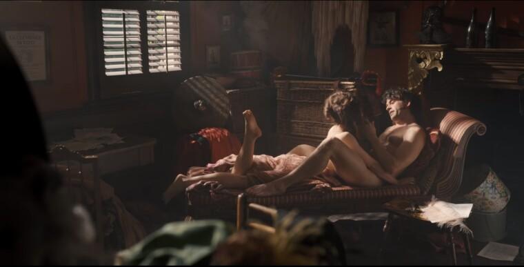 Віконт Ентоні Бріджертон і його коханка Сієна.