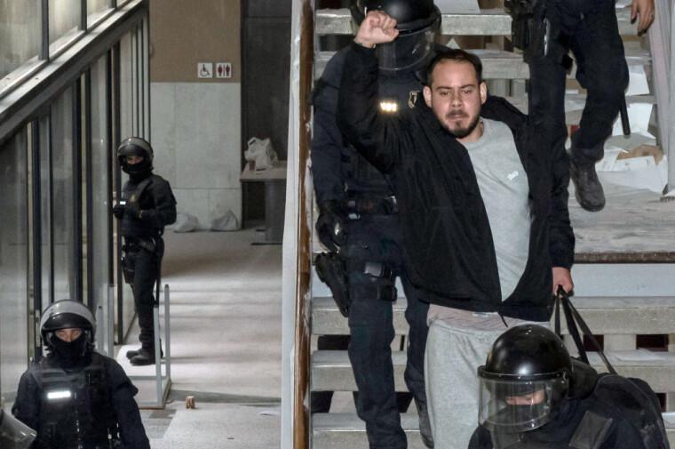 Задержание Пабло Хаселя