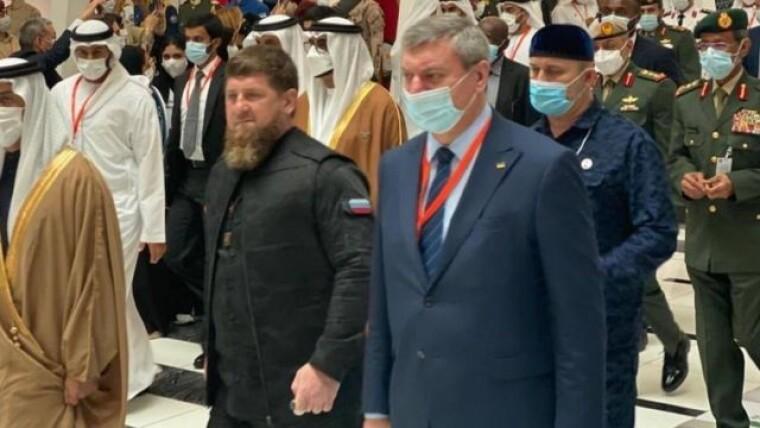 Олег Уруский рядом с Рамзаном Кадыровым
