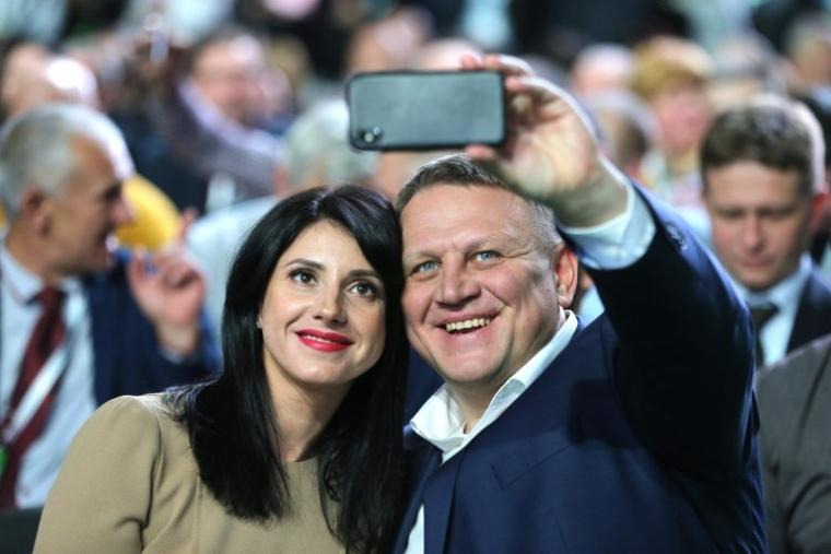 Александр Шевченко с женой Татьяной
