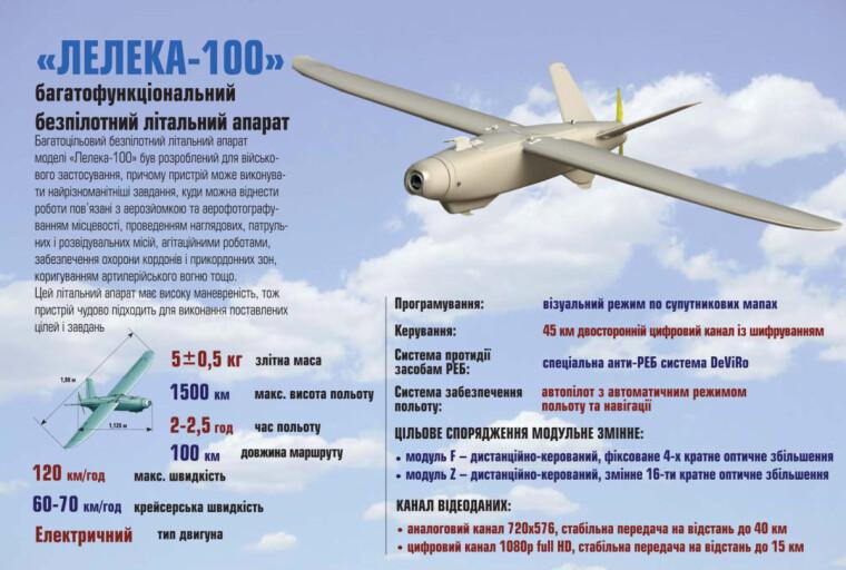"""Безпілотний літальний апарат """"Лелека-100"""""""