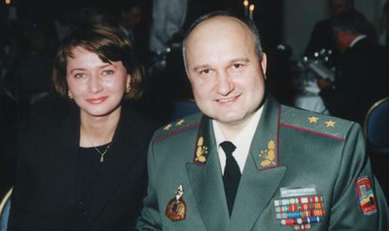 Игорь Смешко с женой Юлией