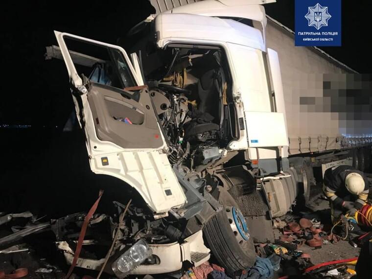 39-річного водія Daf доправили до лікарні