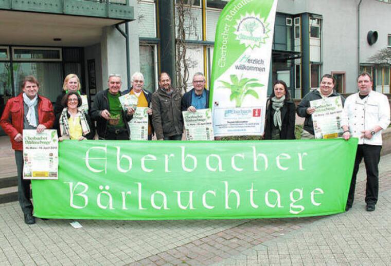 Як і будь-який інший фестиваль, присвячений черемші Eberbacher Bärlauchtage має своїх визнаних «зірок»/Claudia Richter