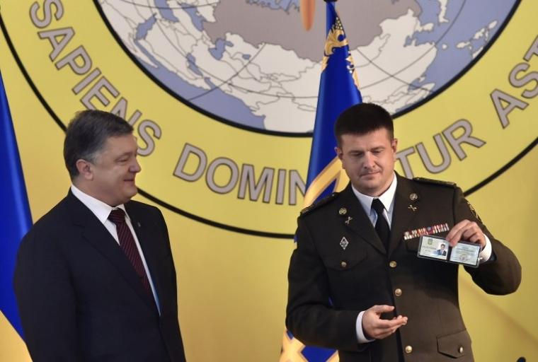 фото Порошенко и начальника ГУР