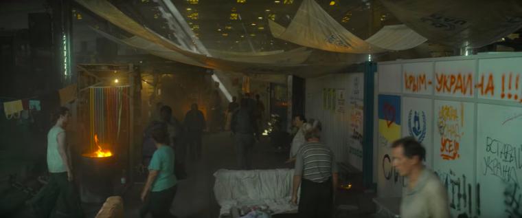 """Кадр из фильма """"Смертельная зона"""""""