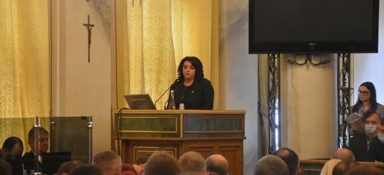 Председатель Львовского областного совета Ирина Гримак