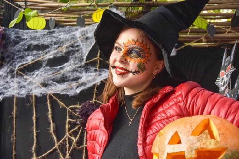 фото празднования хэллоуина