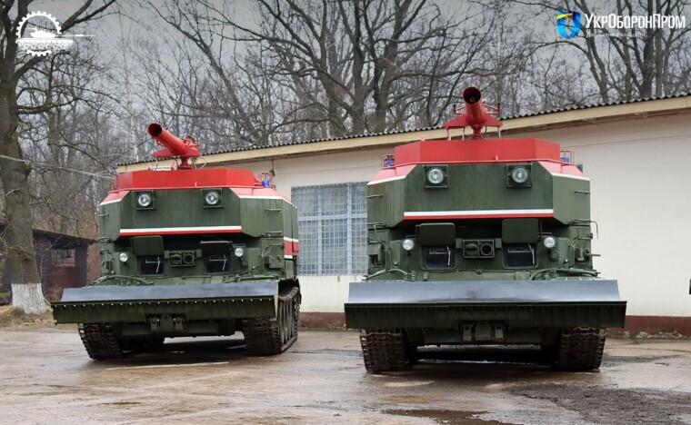 Відремонтовані пожежні танки