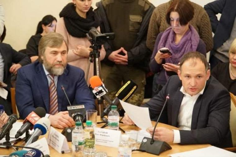 Олег Татаров (справа) и Вадим Новинский / 24tv.ua