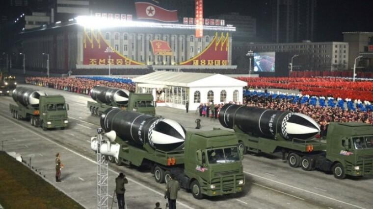 Нові балістичні ракети КНДР