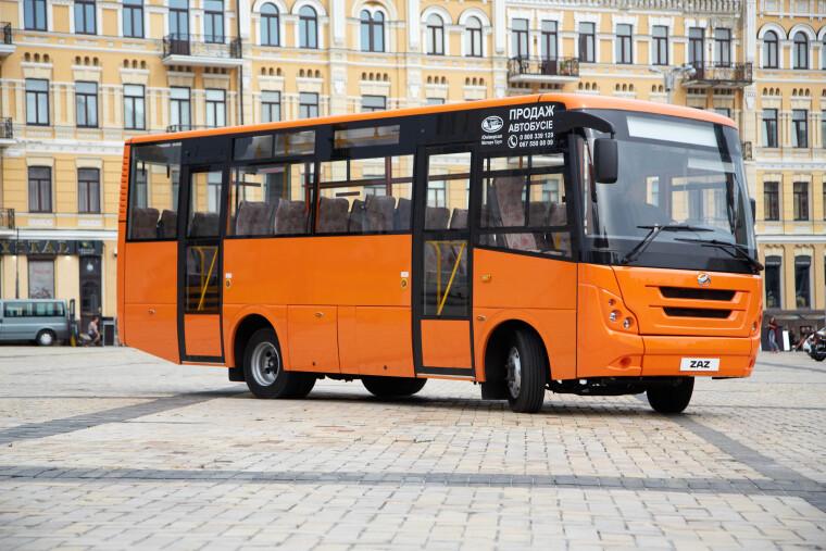 ЗАЗА08 автобус для міських та приміських подорожей