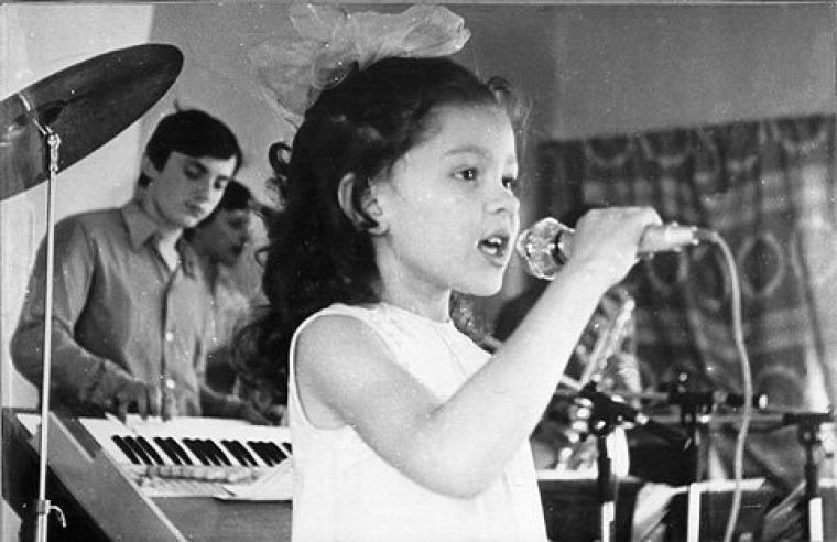 Руслана в дитинстві