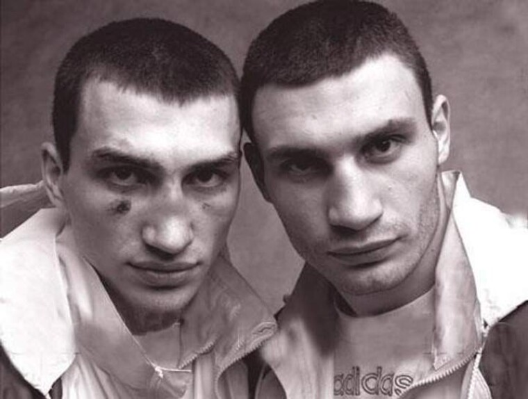 Владимир и Виталий Кличко, будущие чемпионы / Фото из личного архива братьев Кличко