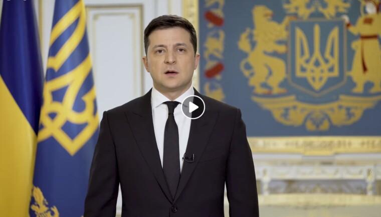Владимир Зеленский записал очередной видеоролик по поводу заседания СНБО 2 апреля