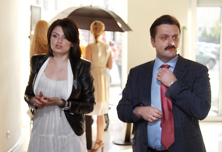 Андрей Деркач с бывшей женой Оксаной