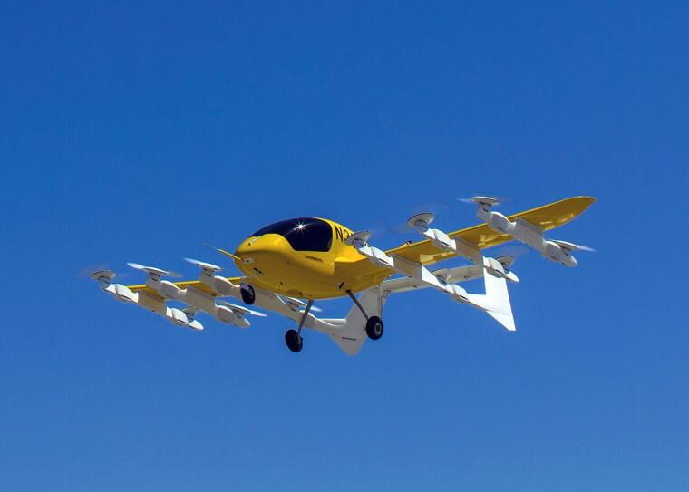 Аэротакси Cora / wisk.aero