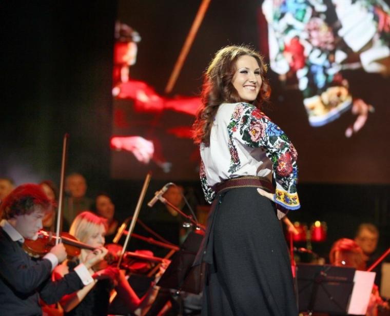 Софія Федина на сцені