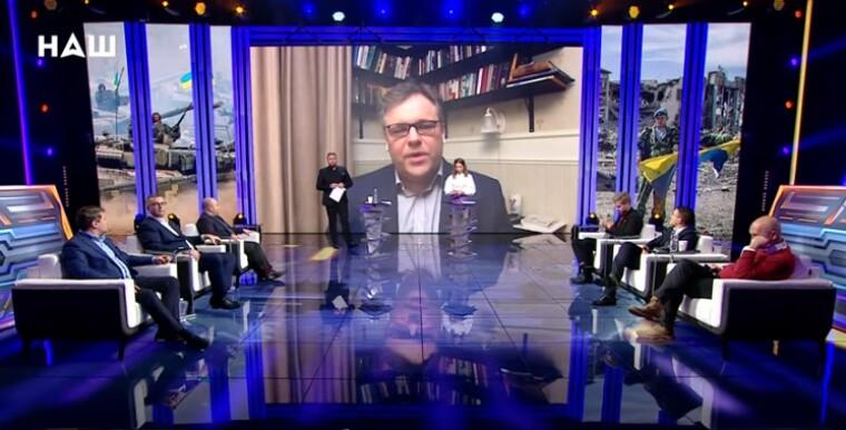 Родион Мирошник на телеканале НАШ