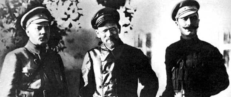 Клим Ворошилов, Михаил Калинен, Семен Буденный
