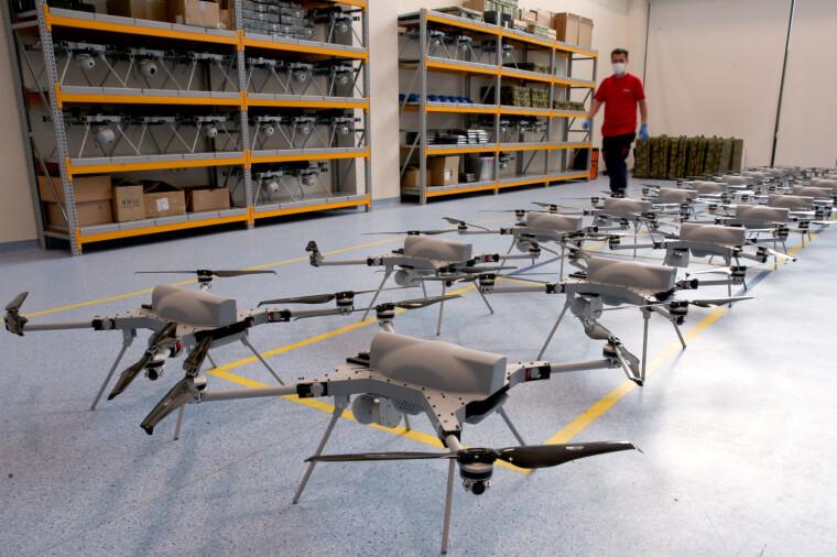 Турецькі дрони-камікадзе Kargu/haber.aero