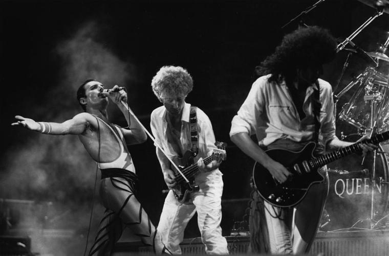 Група Queen на одному з концертів