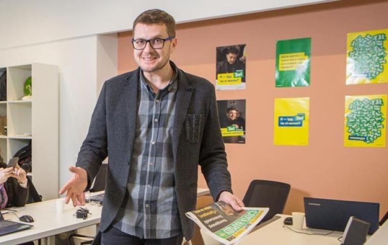 Иван Баканов — глава предвыборного штаба Владимира Зеленского