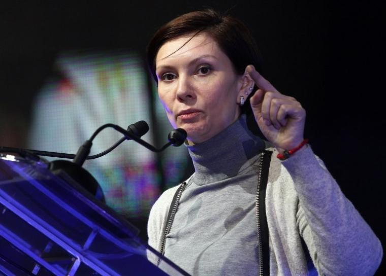 Народний депутат від Партії регіонів Олена Бондаренко