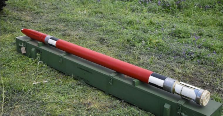 """122-мм реактивний снаряд """"Тайфун-1"""" до РСЗВ """"Град"""" і """"Верба""""/АрміяInform"""