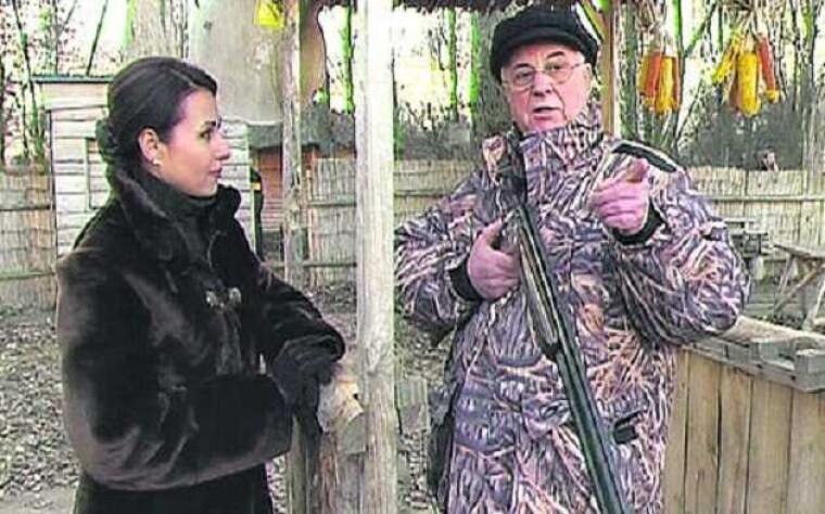 Леонид Кравчук рассказывает о своем хобби — охота