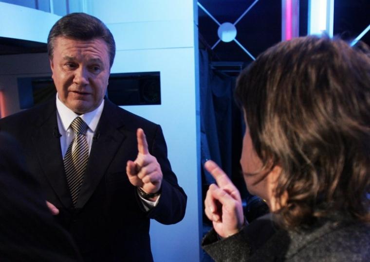 Виктор Янукович и Вадим Карасев