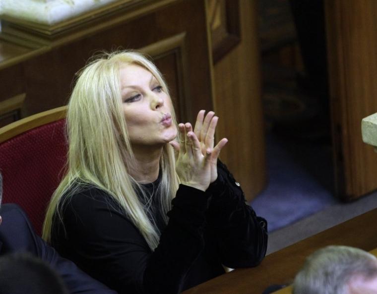 Народний депутат від Партії регіонів Таїсія Повалій