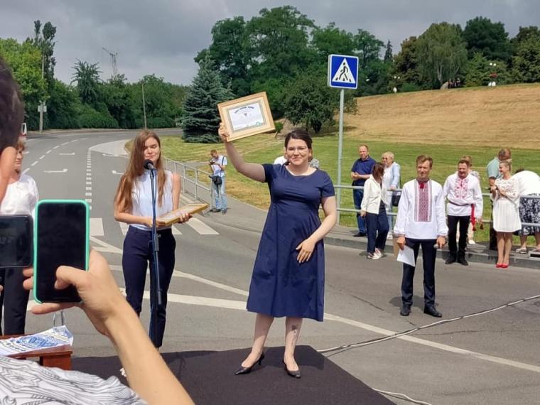 Анна Коваленко на посаді голови Чернігівської ОДА/facebook.com/anna.kovalenko.399