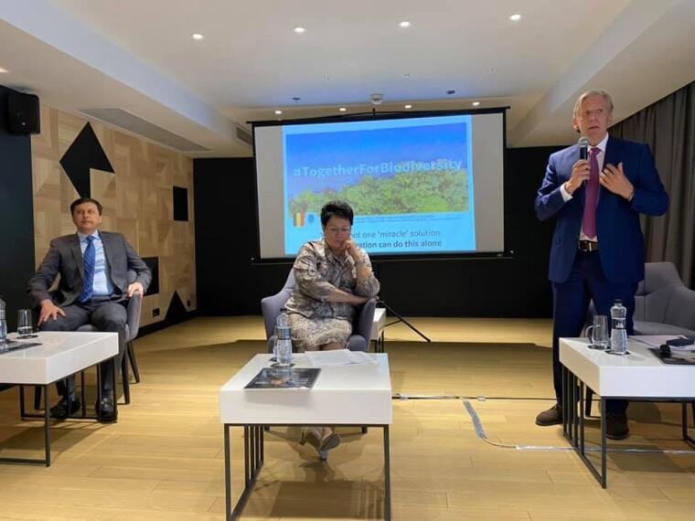 На ECO UKRAINE обсуждались инновационные проекты экологического развития городов, общин и территорий