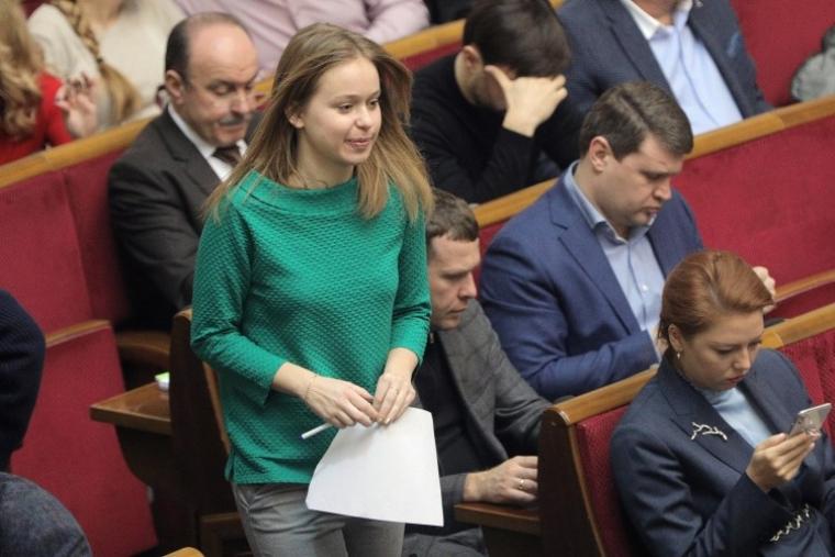 В залі Верховної Ради