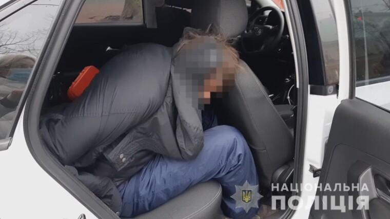 """Затриманий чоловік, який погрожував підірвати """"гранату"""" в ресторані """"Макдональдс"""""""