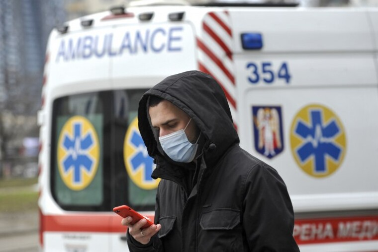 В Украине началась третья волна коронавируса